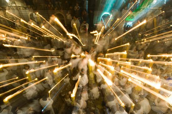 la processione di sant'agata - Catania (2221 clic)