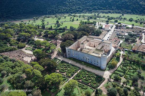 vista aerea del castello di donnafugata (3779 clic)
