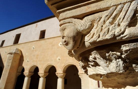 modica, il convento di santa maria del Gesù (2435 clic)