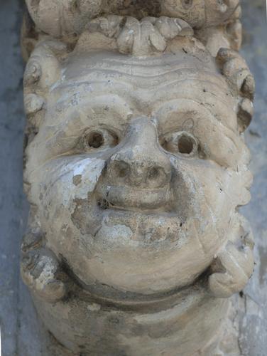 mensole del balcone di palazzo iudica-cafici, particolare - Palazzolo acreide (1727 clic)