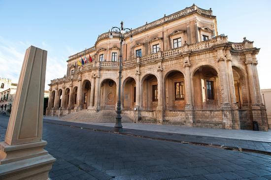 palazzo ducezio - Noto (3869 clic)