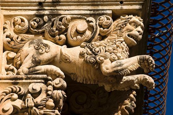 palazzo nicolaci, particolare - Noto (1494 clic)