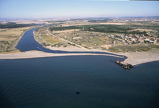 foce del simeto vista aerea - Catania (2569 clic)