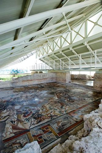 mosaici della villa del tellaro - Noto (2852 clic)