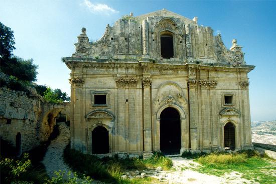 la chiesa di san matteo sul colle omonimo - Scicli (4576 clic)