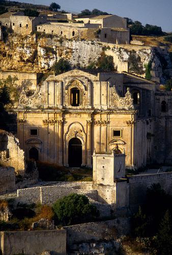 la chiesa di san matteo sul colle omonimo - Scicli (4117 clic)