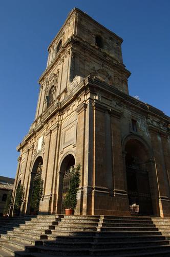 la cattedrale, esterno - Enna (2832 clic)