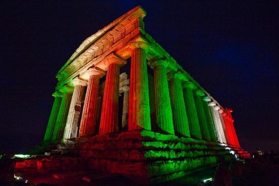 la concordia tricolore - Agrigento (2520 clic)