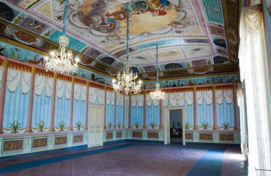 palazzo Nicolaci Villadorata a Noto, interno (4272 clic)