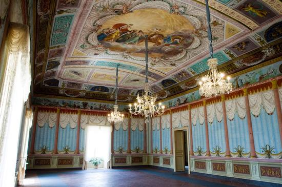 palazzo Nicolaci Villadorata a Noto, interno (7878 clic)