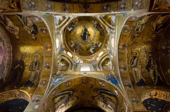la martorana, mosaici della volta - Palermo (5650 clic)