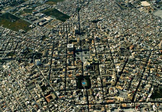avola, vista aerea della città (6002 clic)
