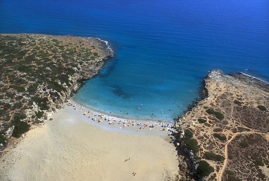 la spiaggia di calamosche dall'alto - Vendicari (7511 clic)