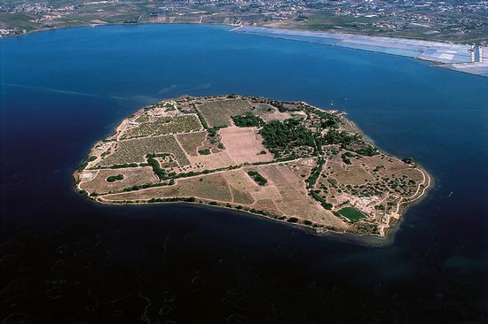 l'isola di mozia, ovvero san pantaleo vista dall'alto (6447 clic)