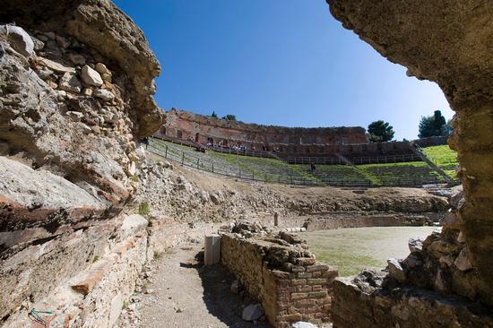 il teatro greco - Taormina (1445 clic)