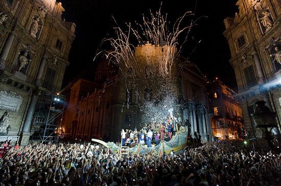 santa rosalia ai quattro canti  - Palermo (9129 clic)