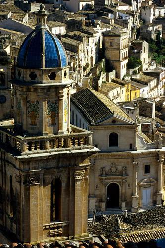 il campanile della chiesa dell'itria e le anime del purgatorio - Ragusa (4415 clic)