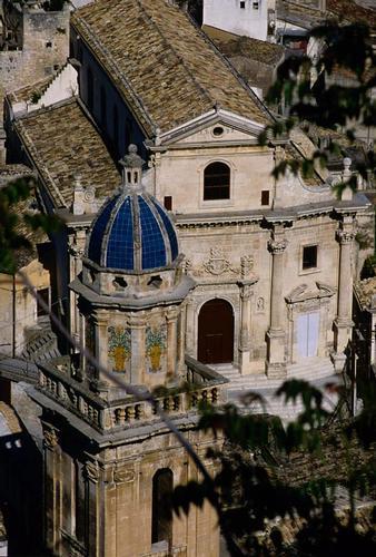 il campanile della chiesa dell'itria e le anime del purgatorio - Ragusa (2938 clic)