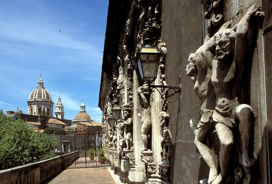 palazzo biscari  - Catania (5782 clic)