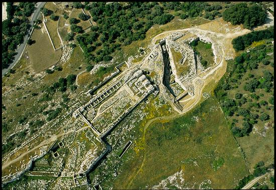 veduta aerea del castello eurialo - Siracusa (6485 clic)
