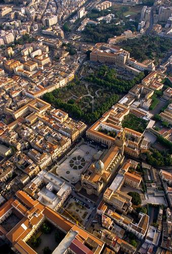 vista aerea del centro storico - Palermo (1846 clic)