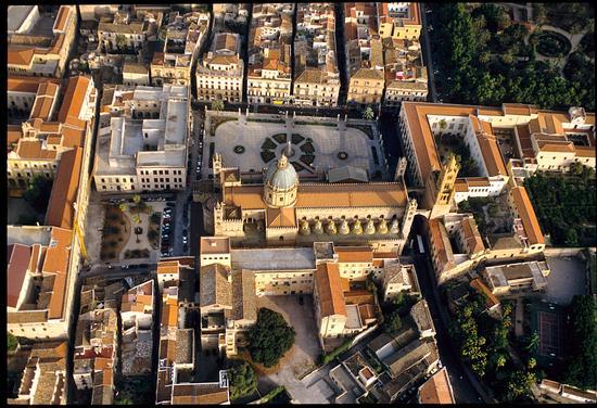 vista aerea del centro storico - Palermo (8413 clic)