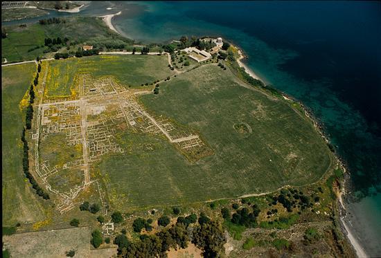 Megara Iblea vista dall'alto - Augusta (5179 clic)