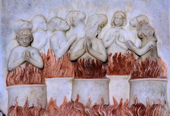basilica san leone, bassorilievo, rinascimento, assoro enna, sicilia (3798 clic)
