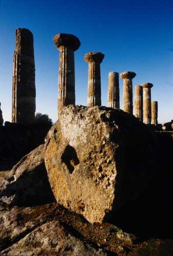 agrigento, tempio di ercole (2613 clic)