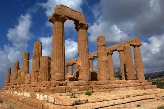 agrigento, valle dei templi, tempio di giunone (4435 clic)