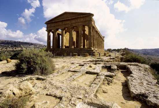 agrigento, valle dei templi, tempio della concordia (4269 clic)