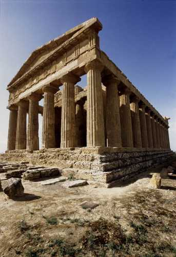 agrigento, valle dei templi, tempio della concordia (4205 clic)