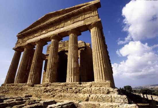 agrigento, valle dei templi, tempio della concordia (3999 clic)