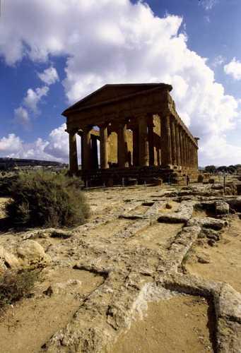 agrigento, valle dei templi, tempio della concordia (2470 clic)