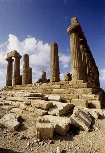 agrigento, valle dei templi, tempio di giunone (2600 clic)