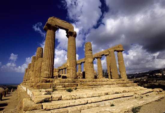 agrigento, valle dei templi, tempio di giunone (4649 clic)