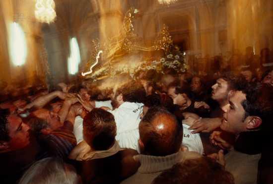 barrafranca, venerdi' santo, u trunu (4833 clic)