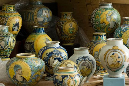 caltagirone, museo regionale, ceramiche  (6159 clic)