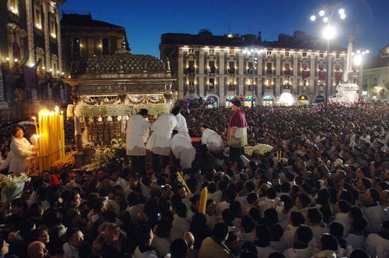 la festa di sant'agata - Catania (8807 clic)