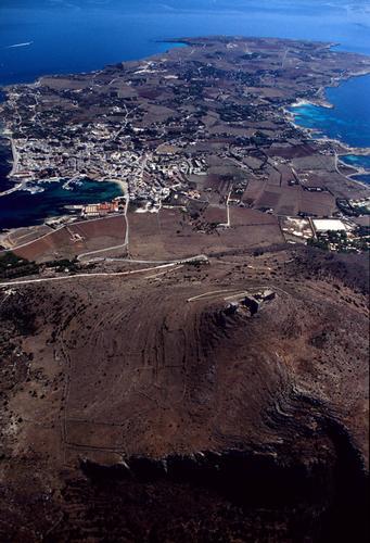 veduta aerea di favignana (4879 clic)