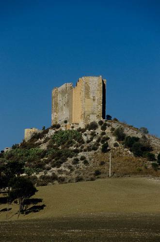 gela, contrada castelluccio, il castello chiaramontano (3519 clic)