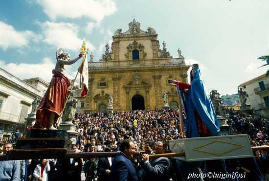 modica, domenica di resurrezione, madonna vasa vasa (4718 clic)