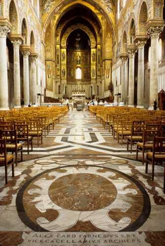 monreale, la cattedrale (3173 clic)