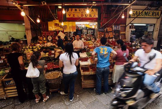 la vucciria, il mercato storico di palermo - Palermo - inserita il 06-Nov-10