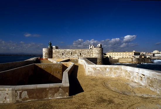 siracusa, castello maniace (4429 clic)