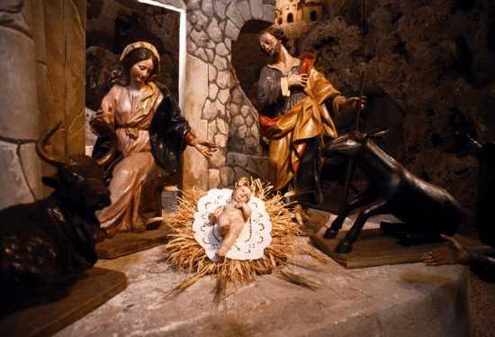 chiesa di san bartoloemo, presepe seicentesco - Scicli (4093 clic)