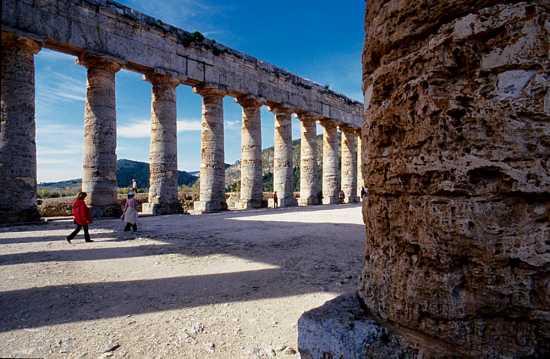 segesta, il tempio (2954 clic)