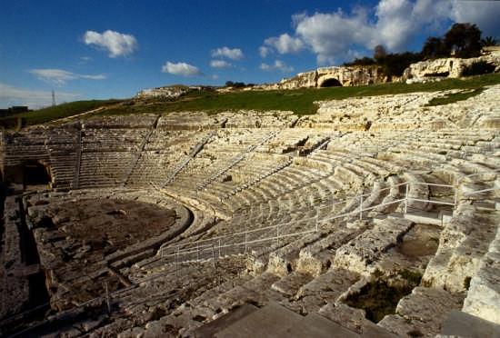 il teatro greco - Siracusa (3884 clic)