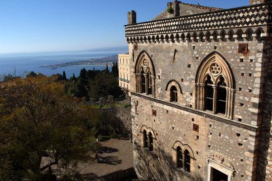 taormina, palazzo corvaja (6092 clic)