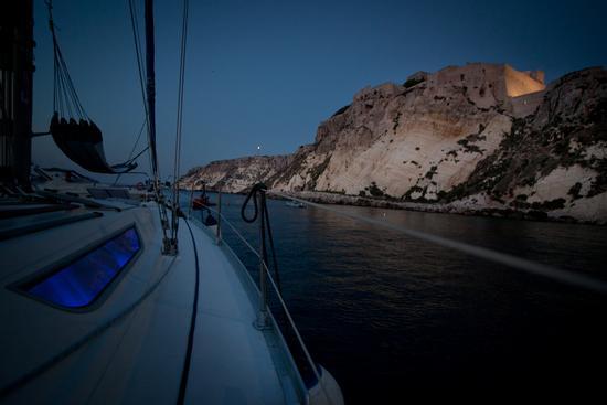 isole Tremiti, San Nicola  notturno (1473 clic)